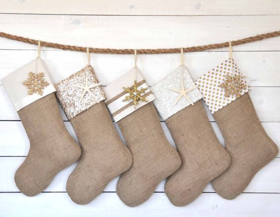 christmas stockings personalized set of 6