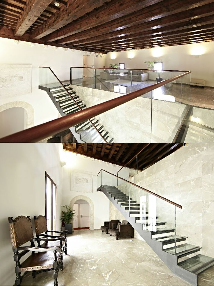 Hotel Tres | Boutiquehotel | Spain | http://lifestylehotels.net/en/hotel-tres | foyer, design, luxury, stairs