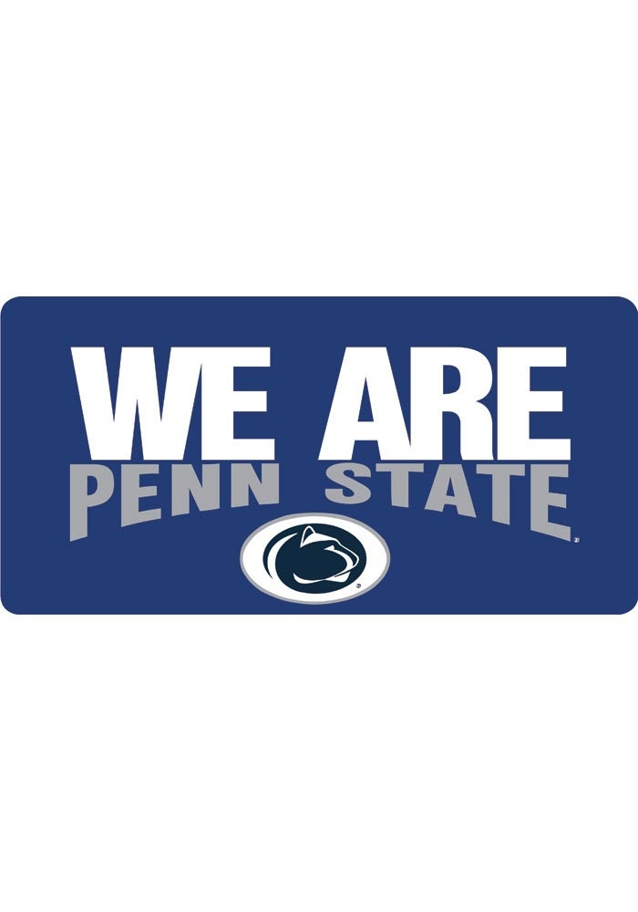 Penn State License Plate We Are Penn State License Plate