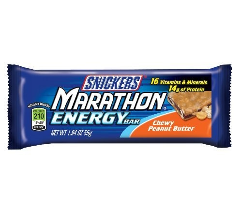 Snickers Marathon Bars Chewy Chocolate Peanut