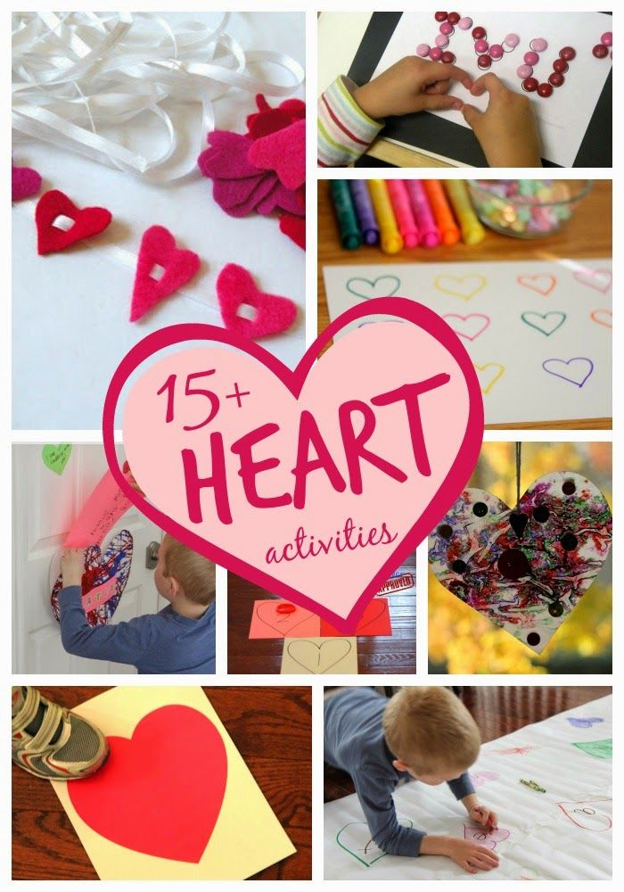 15 Awesome Heart Crafts and Activities for Kids
