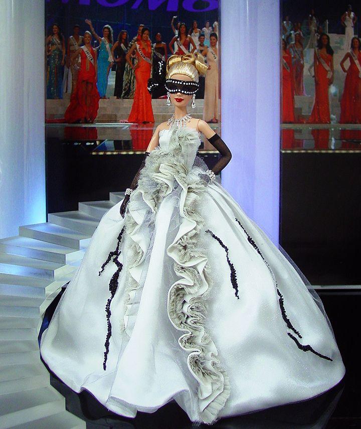 Miss Texas 2013 – Vestido inspirado del diseñador  Christian Dior Alta Costura primavera-verano 2011