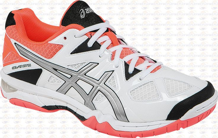 ASICS Gel-Tactic Womens Volleyball Shoes - Coral