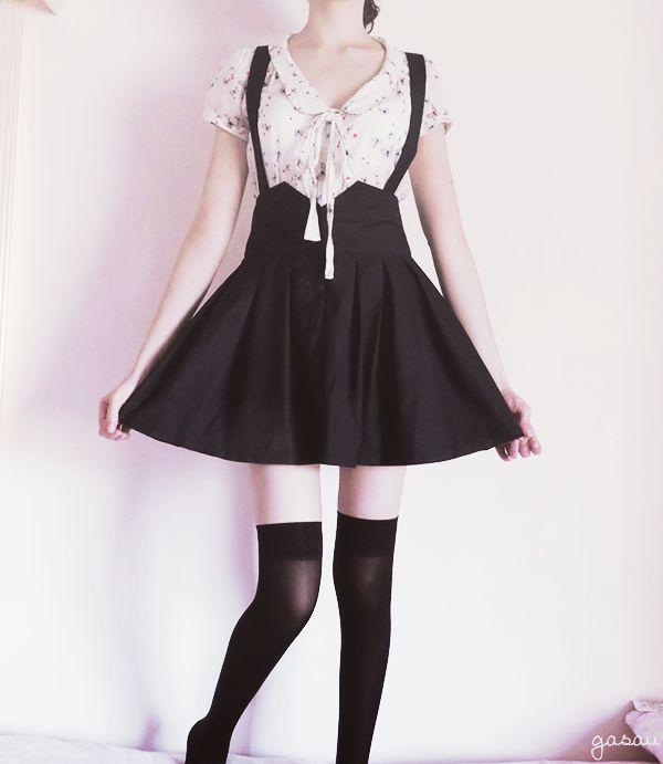 Sweet Pleated Skirt