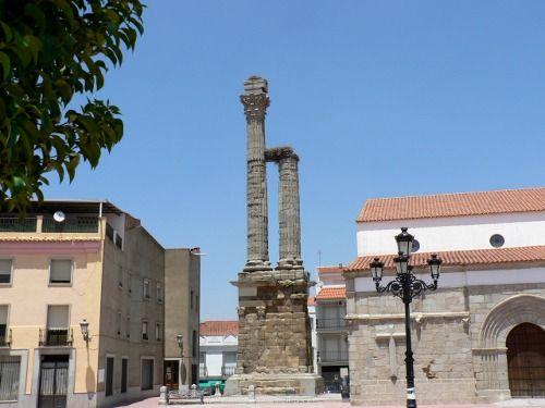 Dístylo Zalamea de la Serena. Viajar por Extremadura