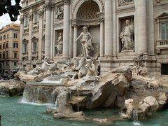 Trevi, Fuente, Fontana Di Trevi, Roma