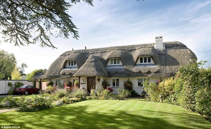 Perched on a cliff-top in Christchurch, Dorset, potential buyers need only turn 180 degrees from the rural idyll of the cottage itself to take in the stunning sea views.