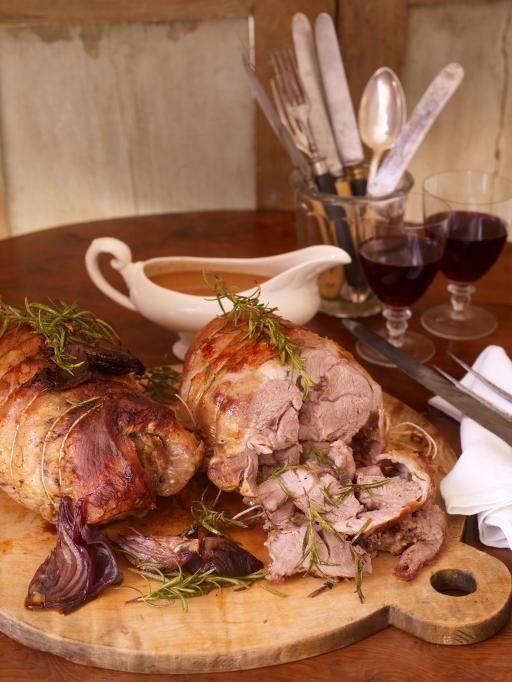 four-hour rolled shoulder of lamb with potato & celeriac smash & steamed veggies   Jamie Oliver   Food   Jamie Oliver (UK)