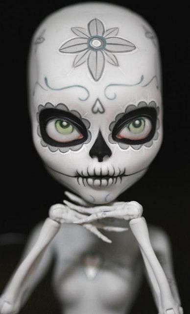 Simple but striking. My favorite sugar skull repaint.