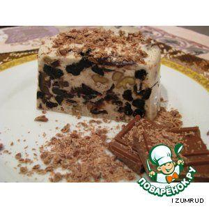 Десерт из чернослива и ореха