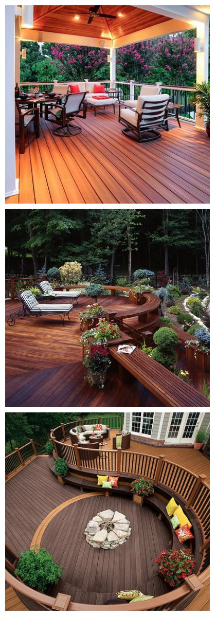 20 Timber Decking Designs That Can Append Beauty Of Your: Best 25+ Timber Deck Ideas On Pinterest