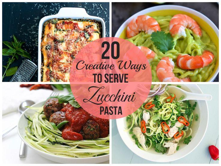 20 Ways To Serve Zucchini Pasta
