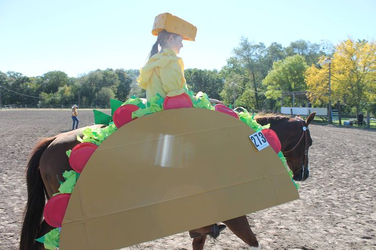 Kaylyn and Hez A Luxury Luke as a WALKING TACO!!!  - Jessica Hall