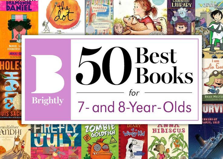 The 50 Best Books for 7- and 8-Year-Olds