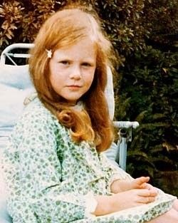 Nicole Kidman (this could be a picture of me at the same age, spooky)
