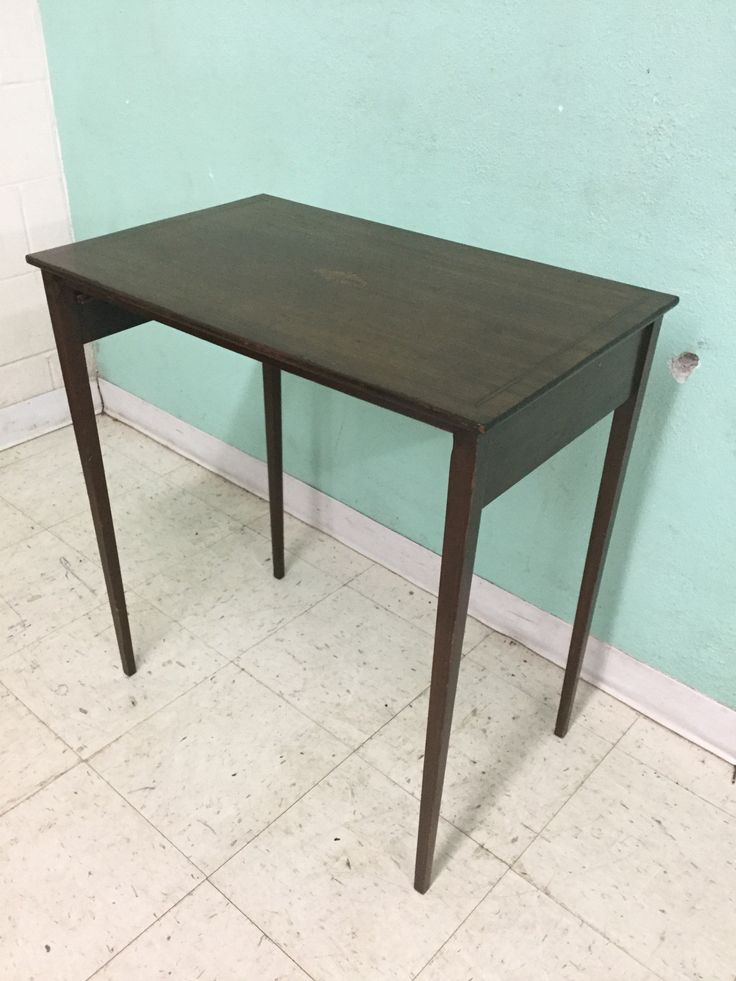 Tall slender table for business
