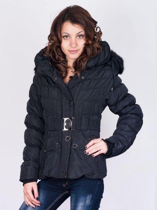 Geaca dama Fashion iarna neagra