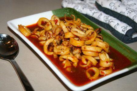 Spicy Ketchup recept calamares