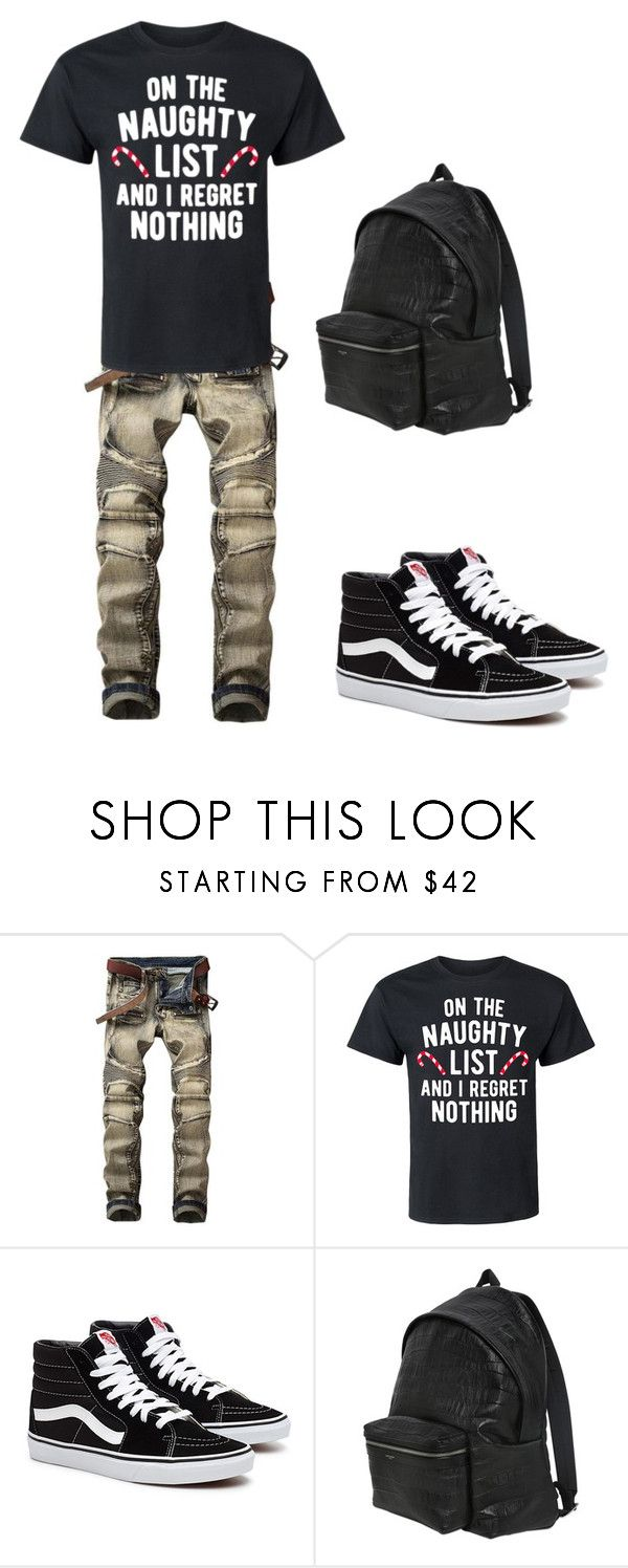 """""""Danny Roberts"""" by captamericasgurl24 on Polyvore featuring Yves Saint Laurent, men's fashion and menswear"""
