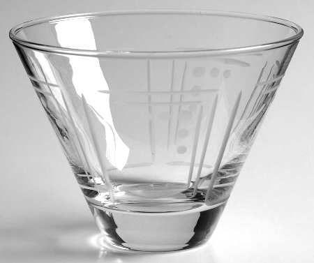 princess house aston stemless martini glasses - Stemless Martini Glasses
