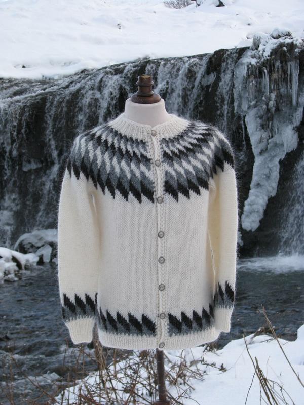 Icelandic Wool Sweater - Lopapeysa - 100% pure Icelandic Wool