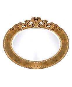 Spiegel, ovaler Spiegel  MADE IN ITALY www.frankmoebel.com