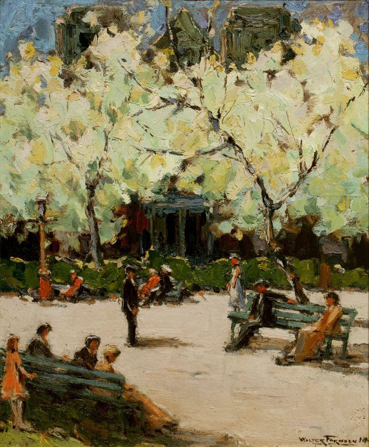 Vose Galleries - Stuyvesant Square, New York by Walter Farndon