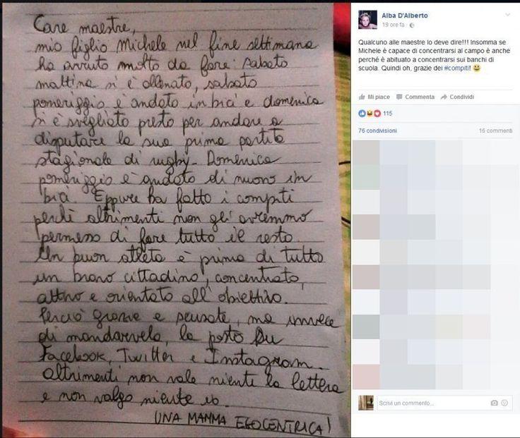 """Torvaianica, la lettera di una mamma su Facebook: """"Maestre, grazie per i compiti"""""""