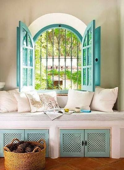 Turquoise atmosphere from Inside Outside magazine