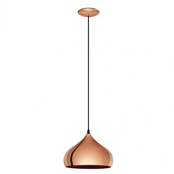 Pendule Pendulul industrial Hapton se poate traduce prin eleganta si prin frumusete. Abajurul are forma cupei unui pahar cu picior rasturnate si este...