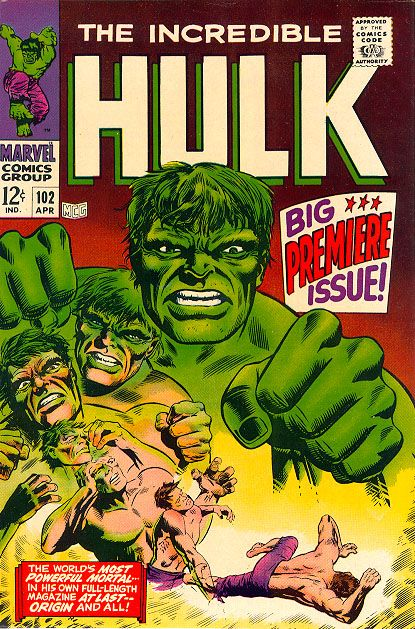 marvel silver age comic book covers | Even though this is issue #102 (the previous 101 issues where Tales To ...