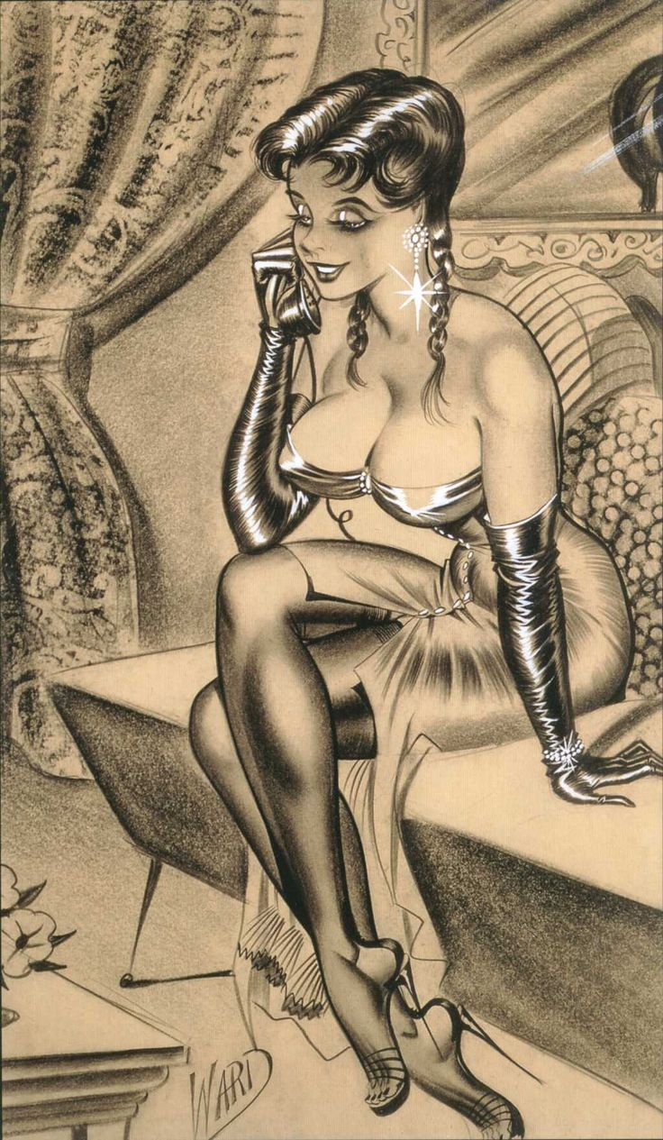 bill ward shemale art