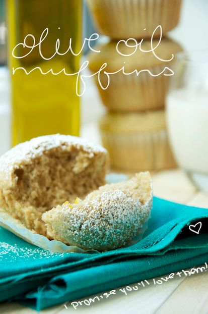 Olive Oil Muffins | Yummy :) | Pinterest