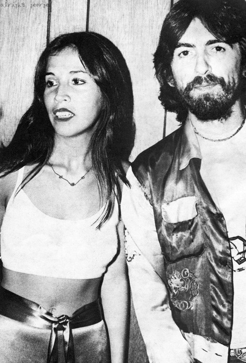 George Harrison & Olivia Harrison! ♥♥ I'm so happy she came along! Way better then his first wife by a long shot...I could go on about this for hours
