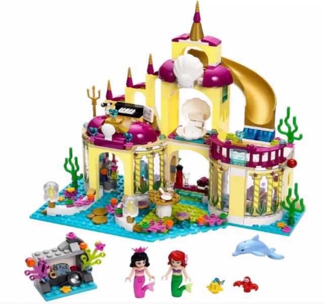 41061 LEGO 2015 Disney Princess Ariel's Undersea Palace 41063 Set with Sebastian Flounder