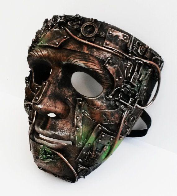 máscara de Steampunk