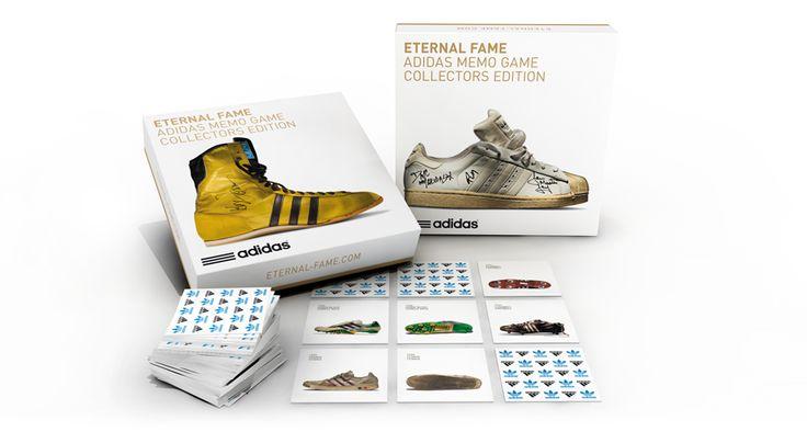Juego de Mesa: Eternal Fame: adidas Memo Game.