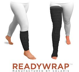 ReadyWrap compression garments for lymphedema and venous insufficiency