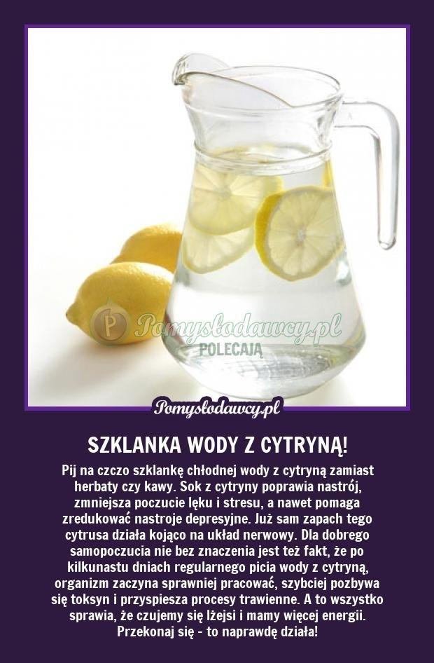 Pomysłodawcy.pl - serwis bardziej kreatywny - PORANNY DRINK - PIJ I ŻYJ! WYPRÓBUJ!