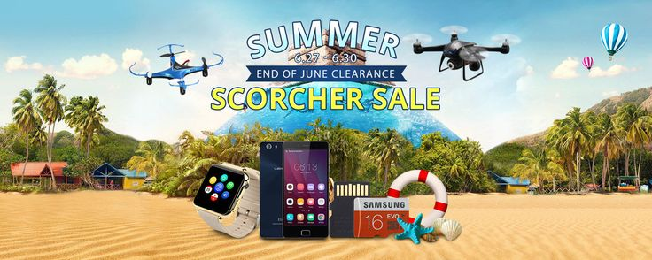 Summer Scorcher Sale, Flash Deal from Everbuying