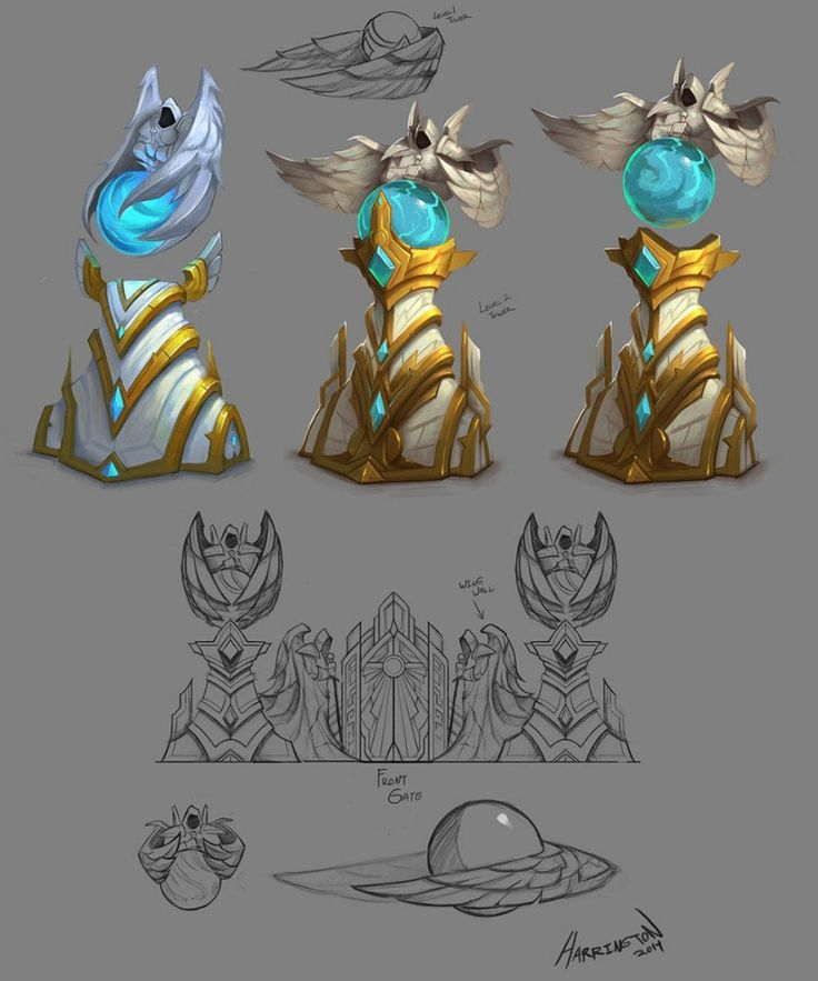 Characters & Concept Art from Blizzard Entertainment game Heroes Of The Storm