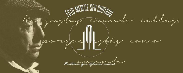 Pablo Neruda - Esto merece ser contado Edición completa en ISSUU: https://issuu.com/estomerecesercontado #diseñoeditorial #design #biography #pabloneruda
