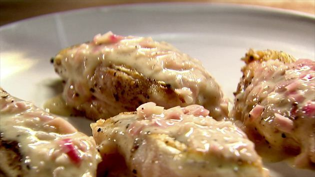 Chicken with Shallots Recipe : Ina Garten : Food Network | Food, Food ...