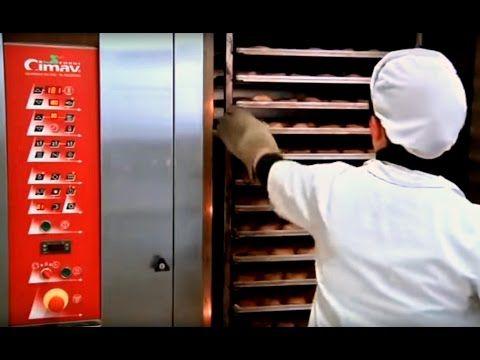 Кондитерский цех Ротационная печь CIMAV Кондитерская печь - YouTube