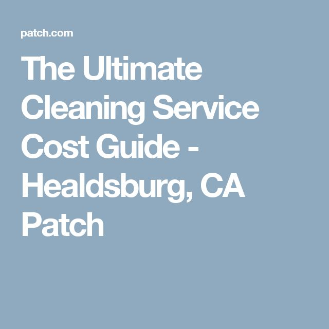 The Ultimate Cleaning Service Cost Guide Diy Do It Yourself