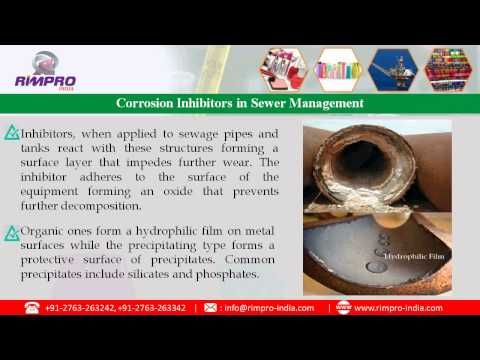 Watch out video about Emulsifiers & Corrosion Inhibitors in Wastewater Management by www.rimpro-india.com. mulsion breaking is important process in the management of industrial and domestic wastes. Most agrochemicals, pesticides, surfactants, cosmetics, toothpastes are made using materials that are not miscible in water. Since they are present in sewage, they form emulsions that float on the water. This inert layer prevents chemical and physical waste action on the sewage.