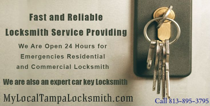 We offer key duplication & Re-key Services in all part of Tampa Florida with Our Professional & Experienced Locksmith. We offer all type of Locksmith Services with Car Key Replacement & Fix Ignition Problem at best offers. We offer commercial locksmith, residential locksmith, automotive locksmith.