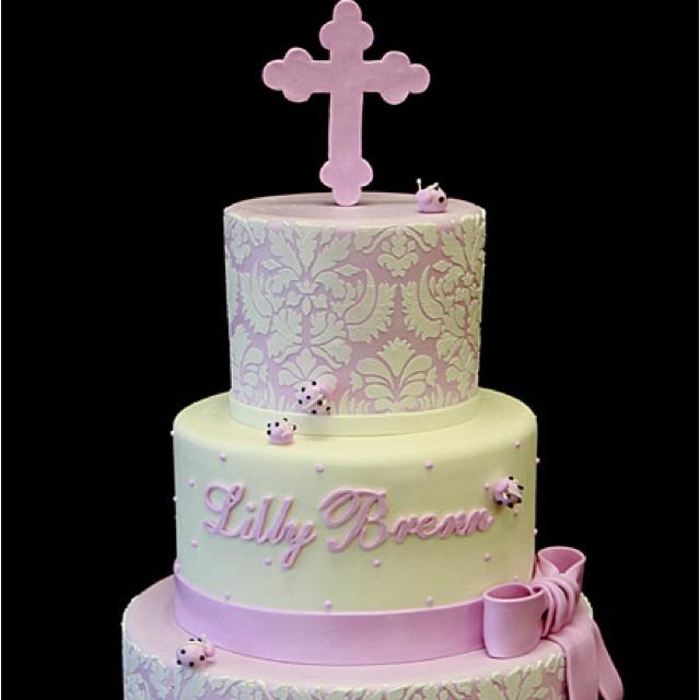Backen, Torten, Kuchen Boxen, Rosa Kuchen, Konfirmations Kuchen, Taufe  Kuchen, Torten Zur Erstkommunion, Kreative Kuchen, Schöne Kuchen