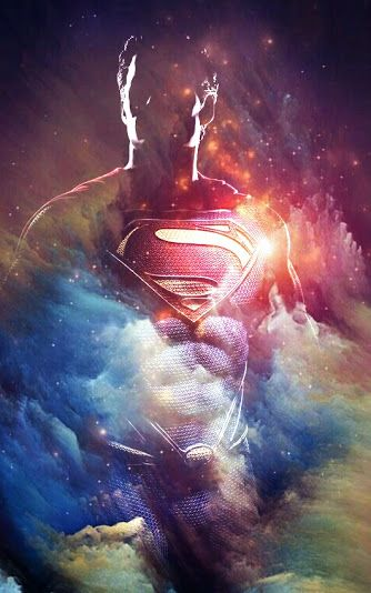 Man of Steel. Superman
