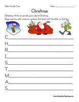 1000+ images about Christmas Worksheets on Pinterest | Christmas ...